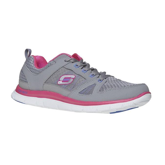 Chaussure de sport femme skecher, Gris, 509-2456 - 13