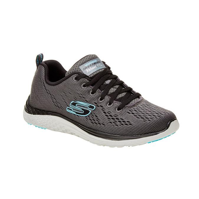 Chaussure de sport femme skecher, Gris, 509-2706 - 13