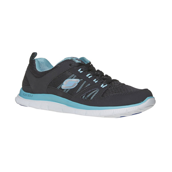 Chaussure de sport femme skecher, Noir, 509-6556 - 13