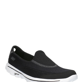 Slip on sport skecher, Noir, 509-6708 - 13