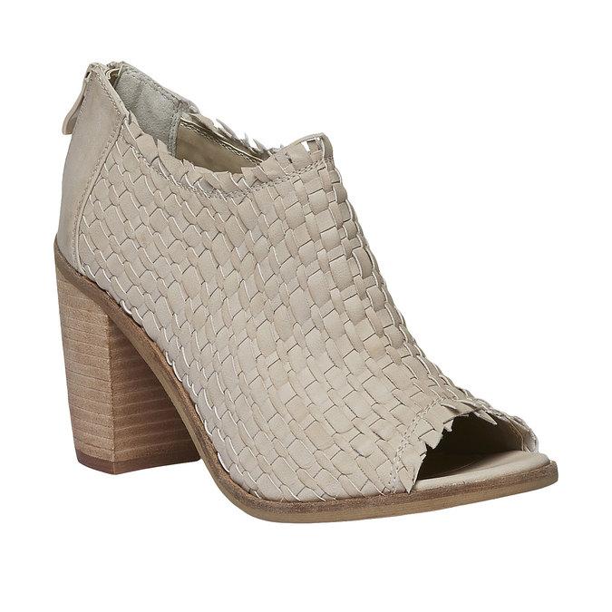 Sandale à bout ouvert bata, Jaune, 721-8945 - 13