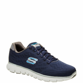 Chaussure de sport homme skecher, Bleu, 809-9979 - 13