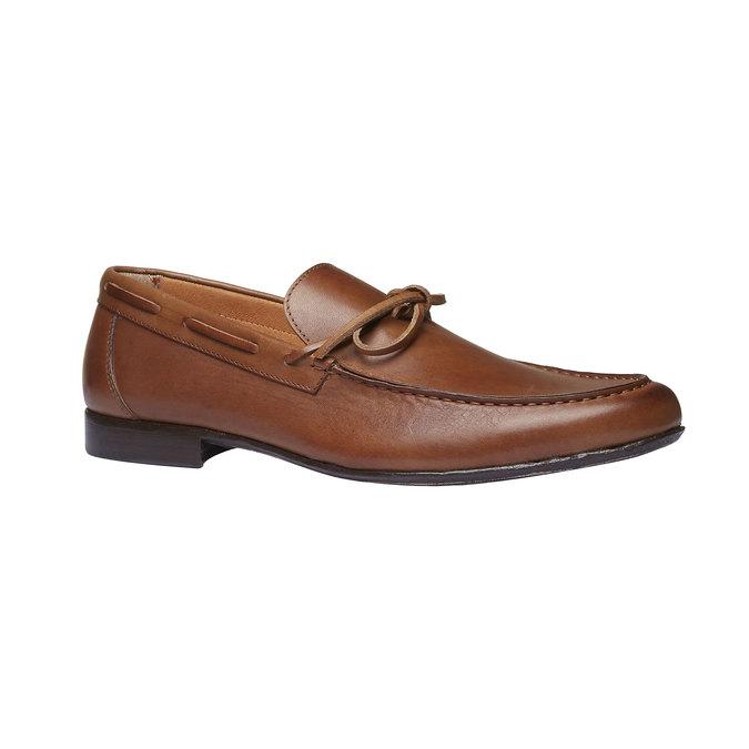 Mocassin en cuir homme shoemaker, Brun, 814-3151 - 13
