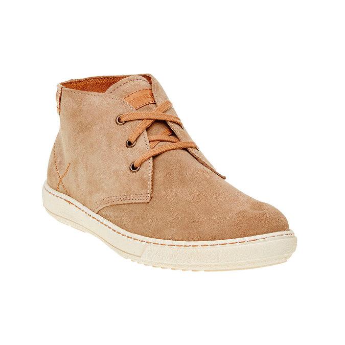 Chaussure homme en cuir weinbrenner, Brun, 843-8661 - 13