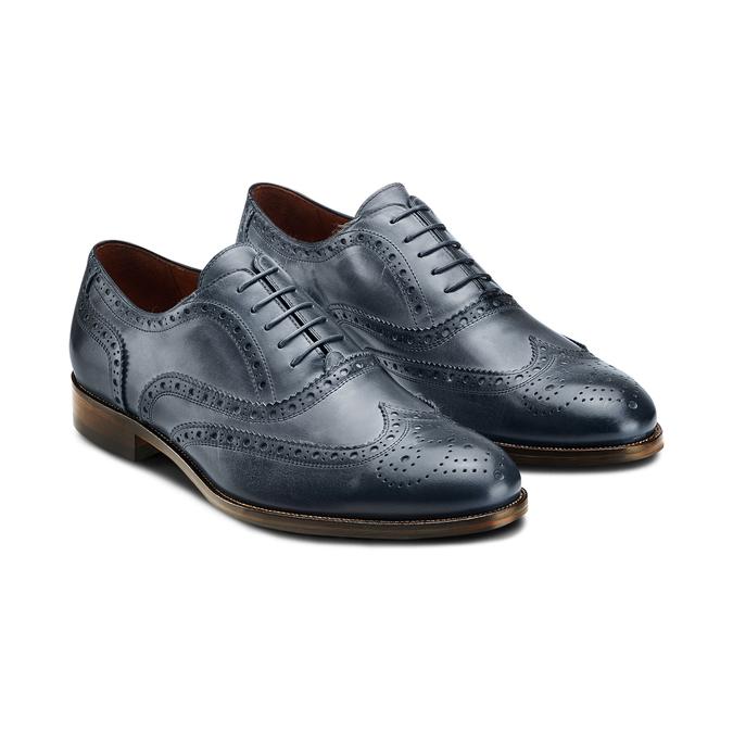 Chaussures en cuir Oxford shoemaker, Violet, 824-9594 - 16