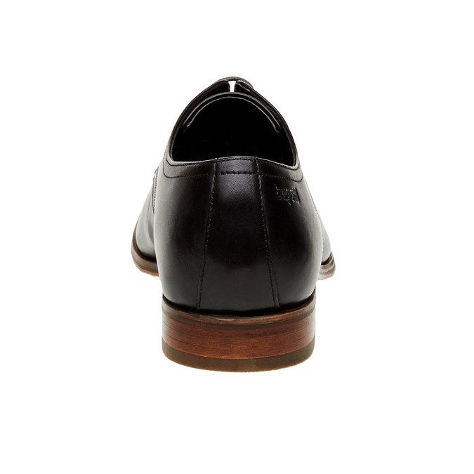 Chaussure lacée Derby en cuir bugatti, Noir, 824-6303 - 17