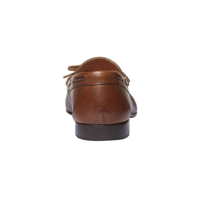 Mocassin en cuir homme shoemaker, Brun, 814-3151 - 17