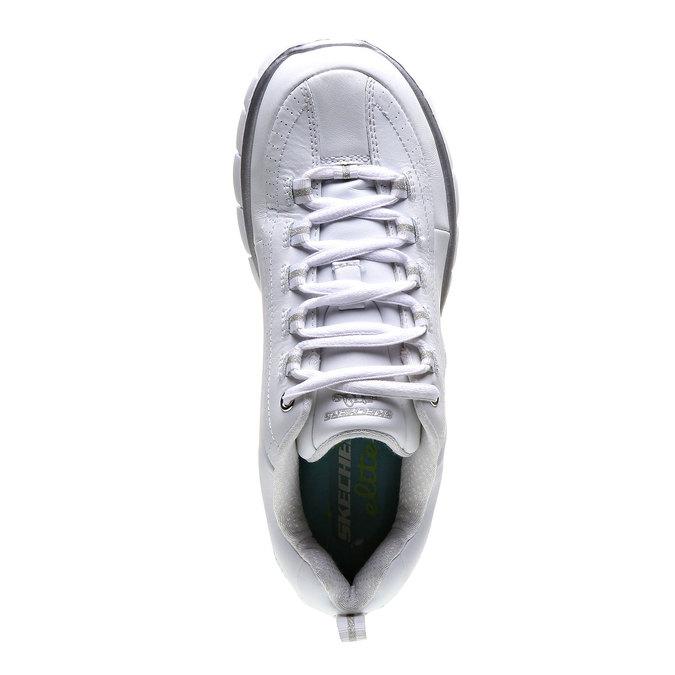 Chaussure de sport skecher, Blanc, 504-1323 - 19
