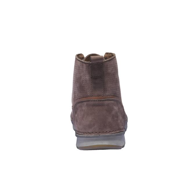 Bottines en cuir weinbrenner, Brun, 896-4133 - 17