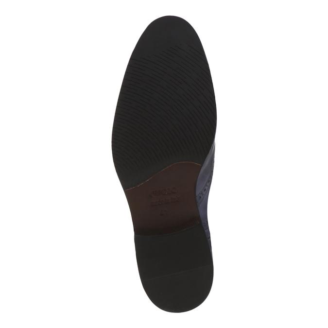 Chaussures en cuir Oxford shoemaker, Violet, 824-9594 - 18
