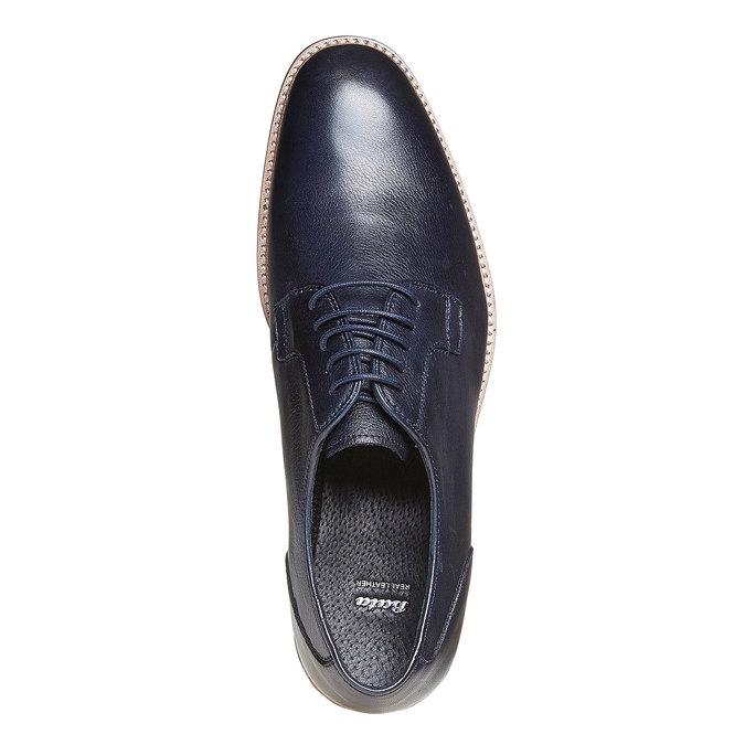 Chaussure en cuir style Derby bata, Violet, 824-9280 - 19