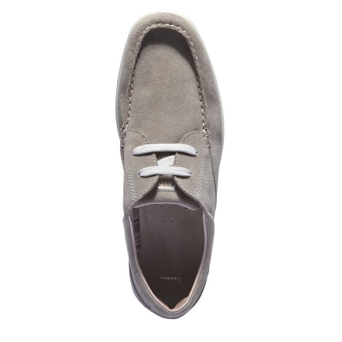 Chaussures de sport lacées bata, Jaune, 843-8271 - 19