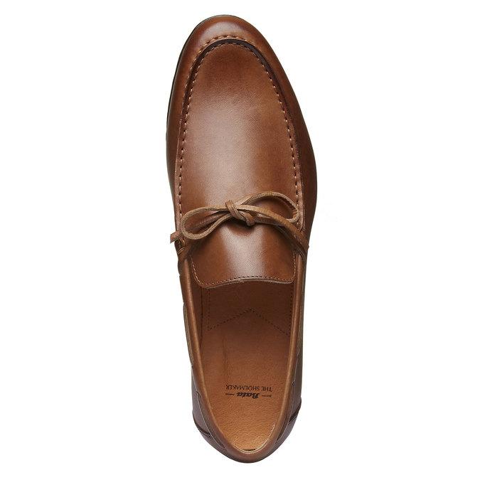 Mocassin en cuir homme shoemaker, Brun, 814-3151 - 19