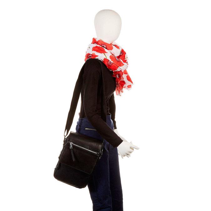 Le sac à bandoulière Seymur bata, Noir, 964-6100 - 19