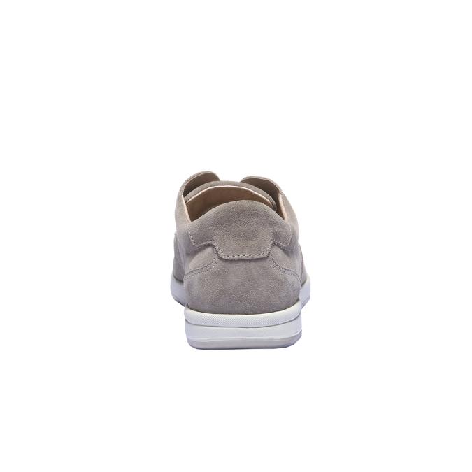 Chaussures de sport lacées bata, Jaune, 843-8271 - 17