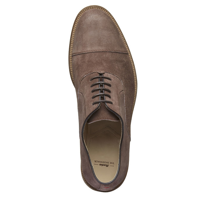 Oxford Shoe en cuir avec semelle en cuir shoemaker, Brun, 823-4103 - 19