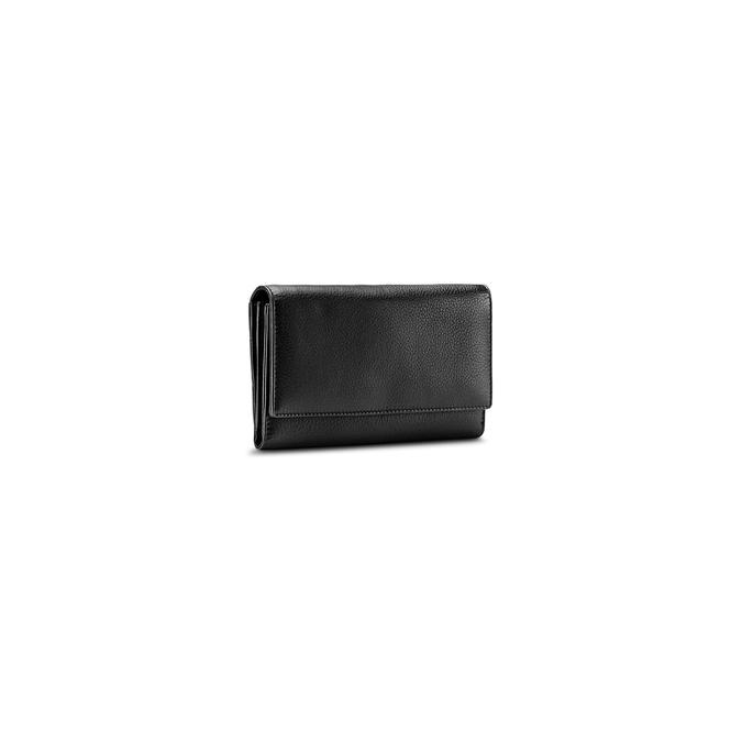 Porte-monnaie en cuir pour femme bata, Noir, 944-6133 - 13