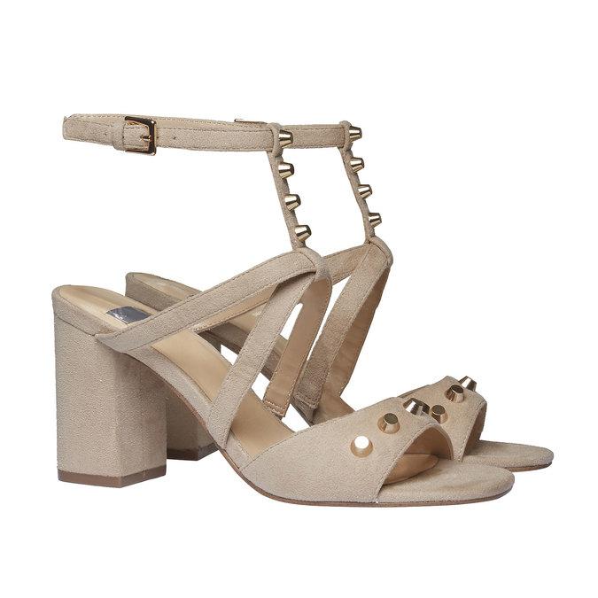 Chaussures Femme bata, Jaune, 769-8534 - 26