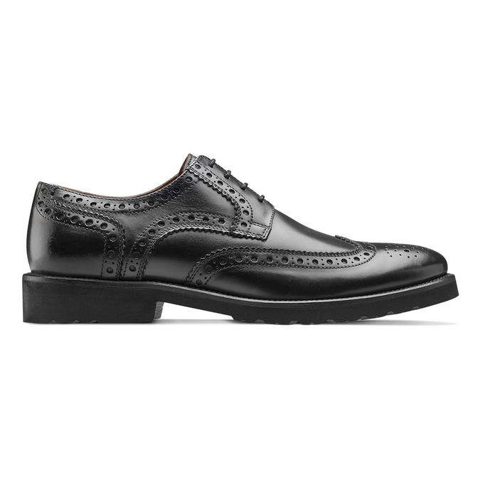Richelieu cuir Argyll bata-light, Noir, 824-6399 - 26