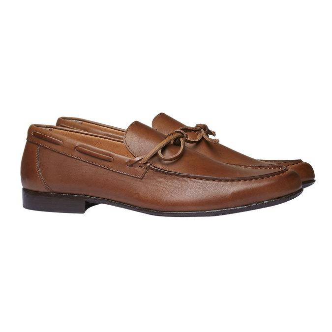 Mocassin en cuir homme shoemaker, Brun, 814-3151 - 26