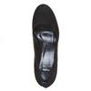 Escarpin en cuir pour femme à talon large bata, Noir, 723-6500 - 19