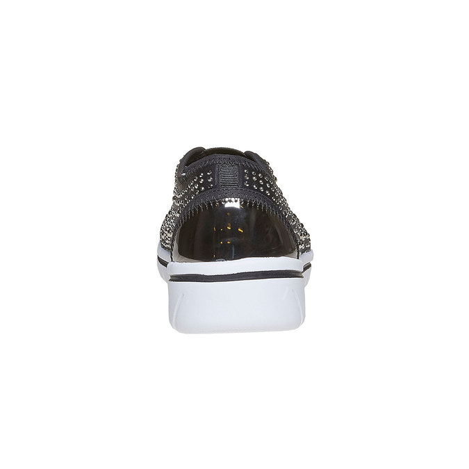 Tennis Slip-on avec petites pierres north-star, Gris, 539-2109 - 17