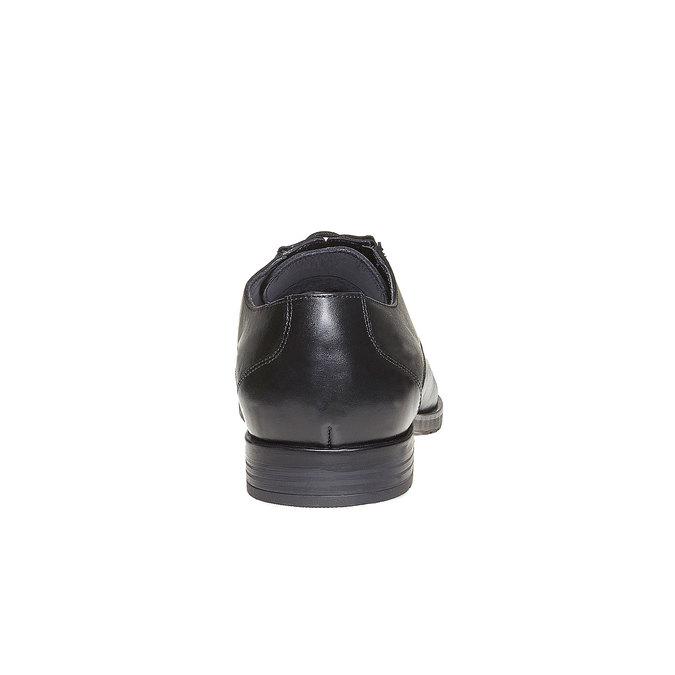 Chaussure en cuir homme bata, Noir, 824-6617 - 17