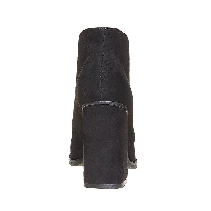 Chaussure femme à talon large bata, Noir, 799-6430 - 17