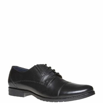 Chaussure en cuir homme bata, Noir, 824-6617 - 13