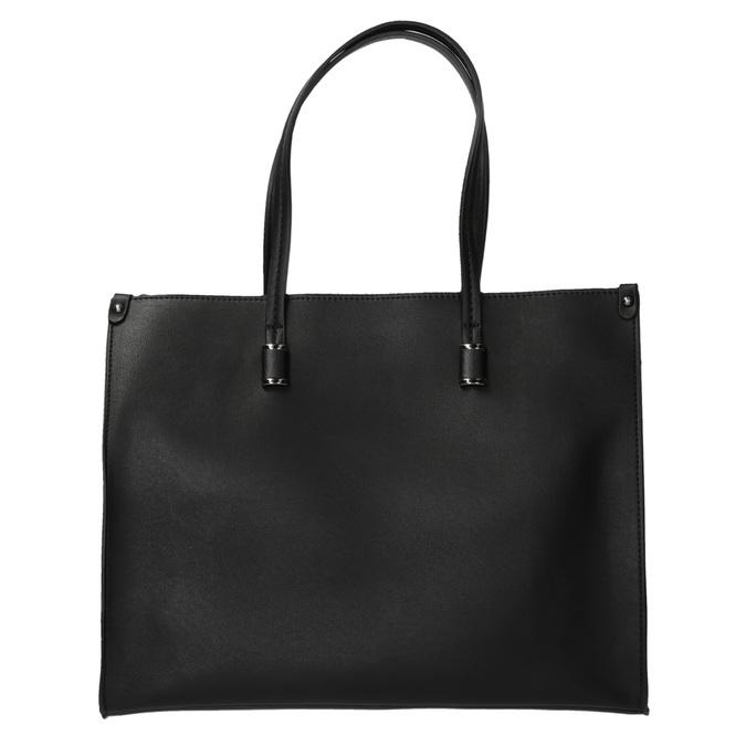 Sac à main anguleux style Shopper bata, Noir, 961-6736 - 26