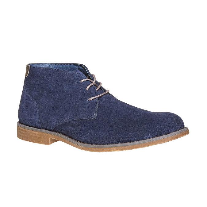 Chukka Boots en cuir homme bata, Bleu, 843-9380 - 13
