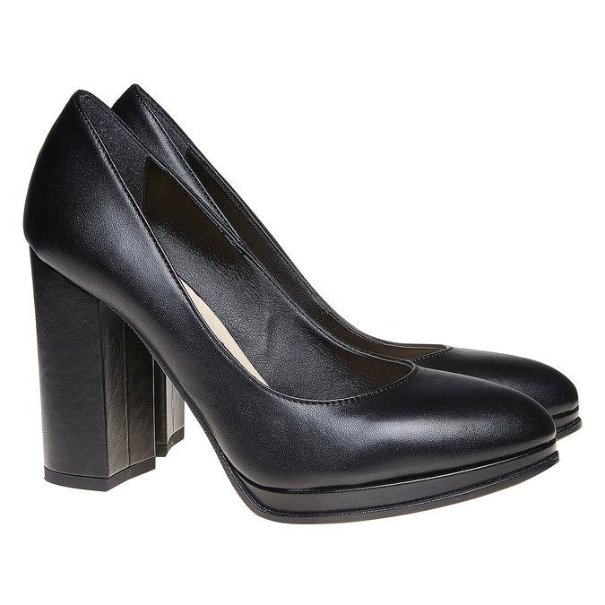 Chaussures Femme bata, Noir, 724-6477 - 26