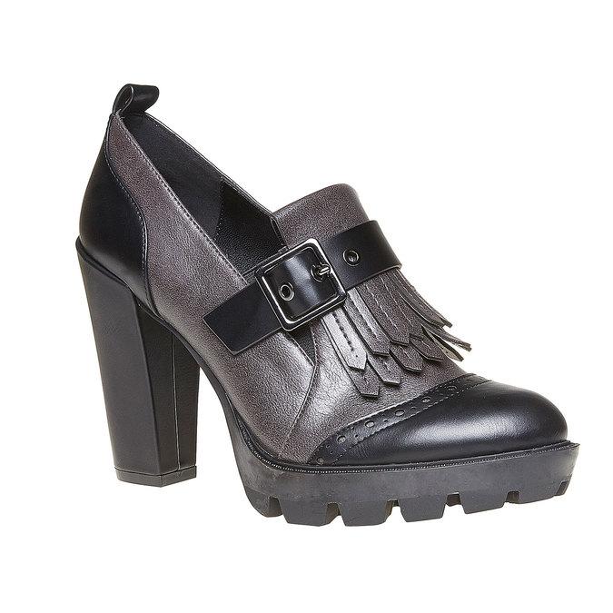Chaussures Femme bata, Gris, 721-2211 - 13