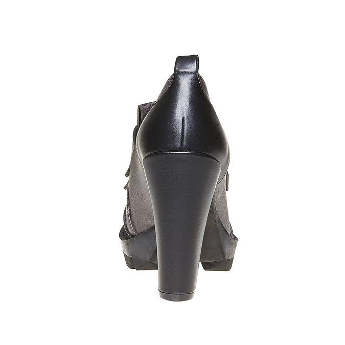 Chaussures Femme bata, Gris, 721-2211 - 17