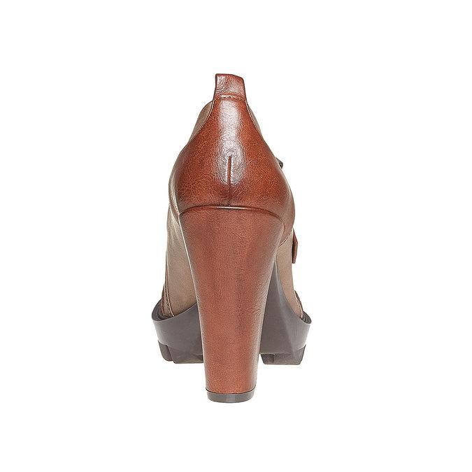 Chaussures Femme bata, Brun, 721-3211 - 17