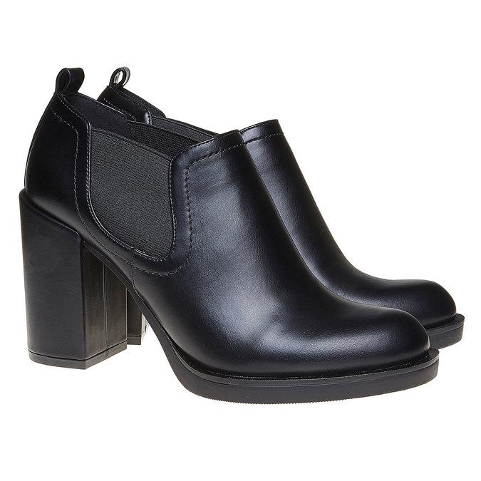 Chaussures Femme bata, Noir, 721-6328 - 26