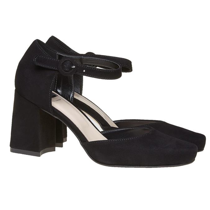 Chaussures Femme bata, Noir, 723-6372 - 26