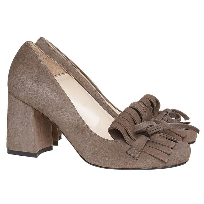 Chaussures Femme bata, Gris, 723-2381 - 26