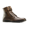 Bottine en cuir bata, Brun, 894-4449 - 13
