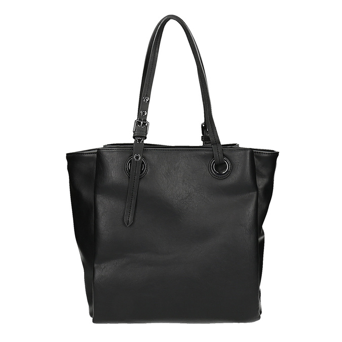 Sac à main Tote Bag bata, Noir, 961-6123 - 19