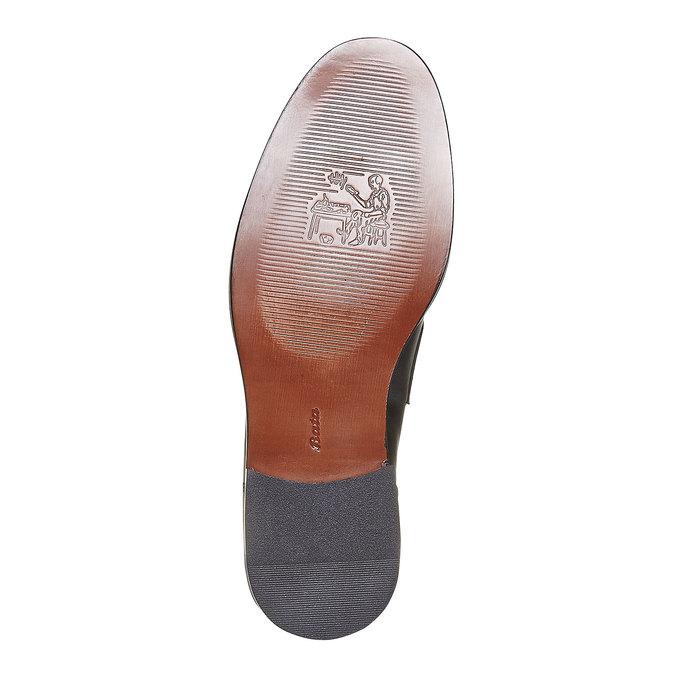 Mocassin en cuir homme bata-the-shoemaker, Noir, 814-6160 - 26