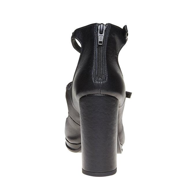 Chaussures Femme bata, Noir, 724-6471 - 17