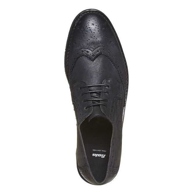 Chaussure Derby homme bata, Noir, 824-6203 - 19