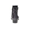 Bottines en cuir bata, Noir, 594-6208 - 17