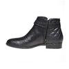 Bottines en cuir bata, Noir, 594-6167 - 19