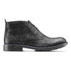 Chukka Boots en cuir pour homme bata, Noir, 894-6282 - 26