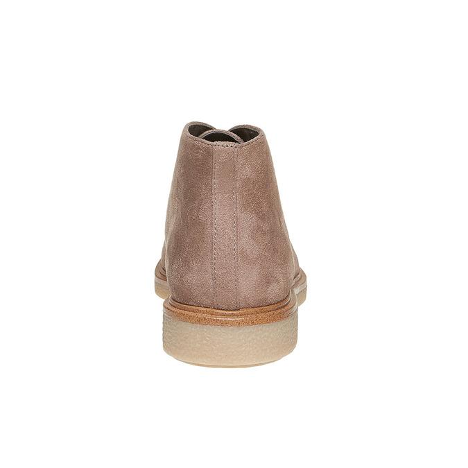 Chaussure femme style Chukka Boots bata, Gris, 529-2200 - 17