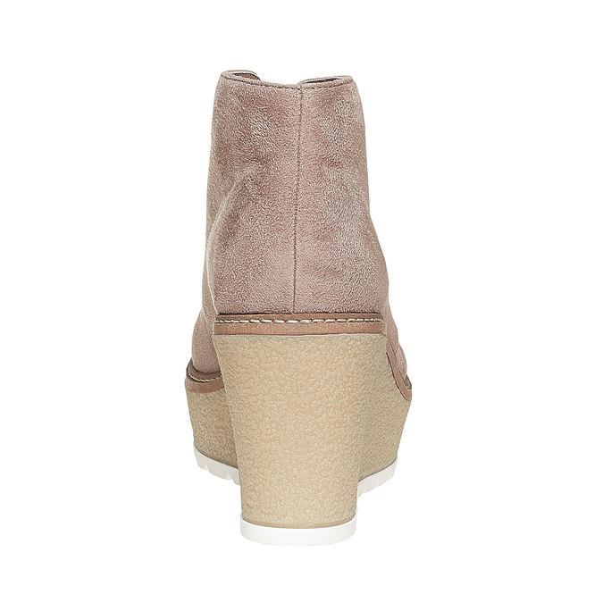 Chaussures Femme bata, Gris, 799-2254 - 17