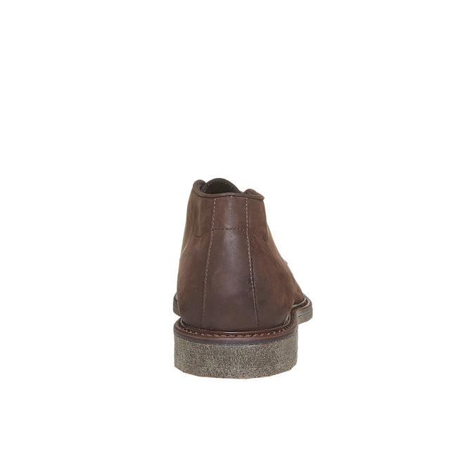 Desert Boots en cuir pour homme bata, Brun, 846-4649 - 17