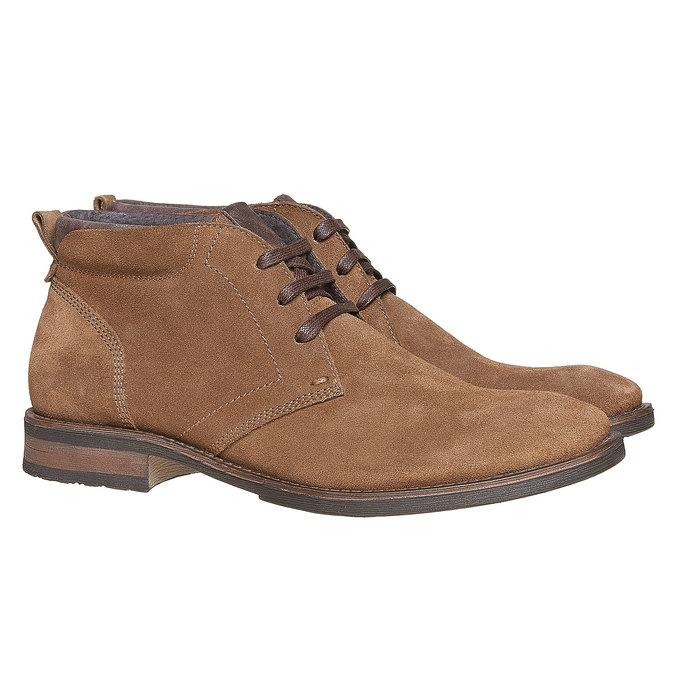 Chaussures Homme bata, Brun, 823-4533 - 26